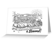 Scattered, Smothered & Slammed Greeting Card