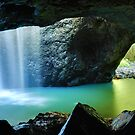 Natural Bridge, Springbrook National Park, Queensland, Australia by Michael Boniwell