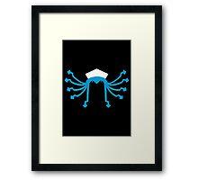 Ika Musume (minimalist) Framed Print