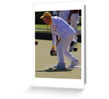 M.B.A. Bowler no. a198 Greeting Card