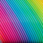 Rainbow Slinky 6 by Steve Purnell