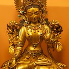 Tibetan Buddha image, 17-18th Century, Patan Museum, Nepal by John Spies