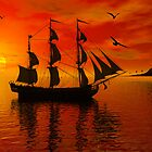 Spanish Galleon by carlosramos