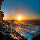 Shark Point sunrise by Erik Schlogl