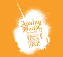 Avalon World Tour (white ) by KitsuneDesigns