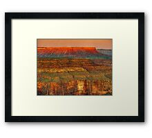 Sunset delight - Grand Canyon Framed Print
