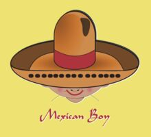 Mexican Boy T-shirt design by Dennis Melling