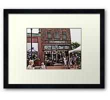 Burrville Antiques Framed Print