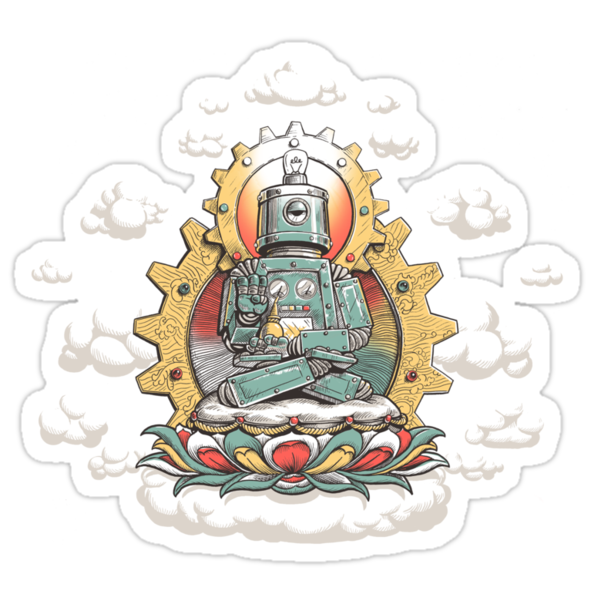 &quot;Mr. Ohmz&quot; the Buddha Bot v6 by sumrow