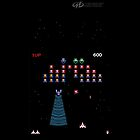 Galaga by Midway Games iPhone Case by Austin Kaplan