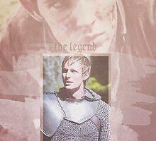 Merlin Poster by SonOfPoseidon