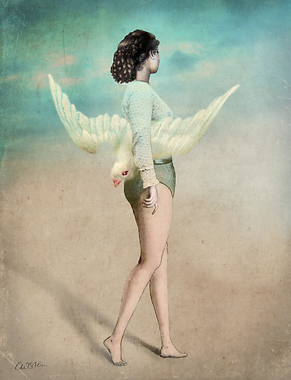 She took her wings and walked by Catrin Welz-Stein