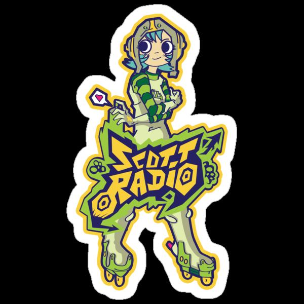 Scott Radio!! - Ramona Aqua by MeleeNinja