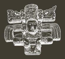 Mayan Sculpture by Beesty