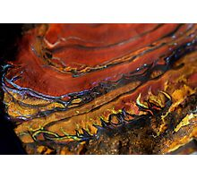 Fire inside Earth Photographic Print