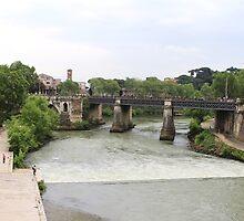 Ponte Garibaldi, Roma by Ben Fatma Marc