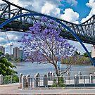 Story Bridge Through Arch Brisbane Australia by PhotoJoJo