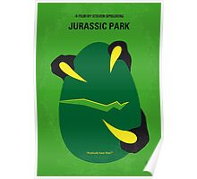 No047 My Jurassic Park minimal movie poster Poster