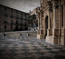Calahorra Cathedral and Palace by RicardMN
