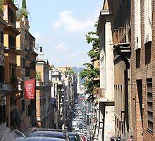 Via delle quattro fontane, Roma by Ben Fatma Marc
