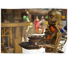 The sinister ashtray holder, Kathmandu  Poster