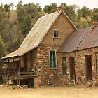 Old Miner's Cabin by Barbara Muller
