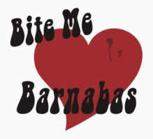 Bite Me Barnabas Dark by waywardtees