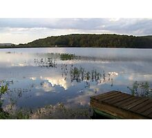 MUUSA lake mirror sky Photographic Print