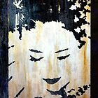 Geisha Girl Painting Iphone Case by Renato Roccon