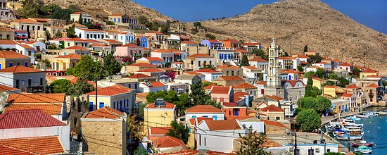 Nimborio, Halki by Tom Gomez