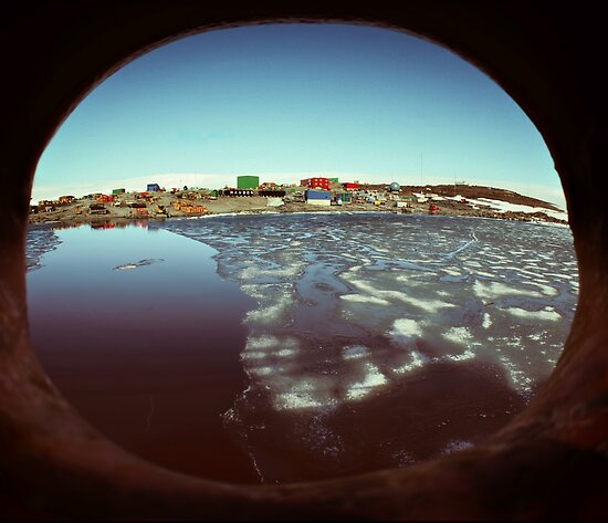 Mawson base, Antarctica by Peter Hammer