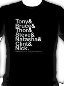 Avengers Team Jetset T-Shirt