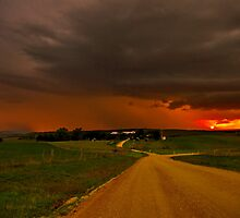 """Thunderstorms Around Sundown"" by Phil Thomson IPA"