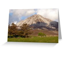 Mount Errigal Greeting Card