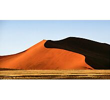 Red Sculptural Dune, Namibia Photographic Print