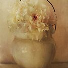 White Peonies in Chamber Pot by Jing3011