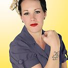 Rosie the Riveter by Chelsey Krause