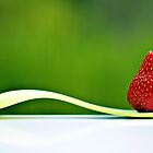 yum...  strawberries... by Gregoria  Gregoriou Crowe