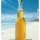 Corona Beer Beach iPhone Case 4/4s by Jnhamilt