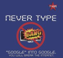 I.T HERO - Never Type Google.. by AdeGee