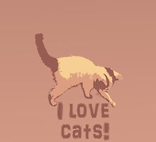 I love cats (iPhone) by Angomango