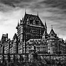 Fairmont Le Chateau Frontenac by Anthony Hennessy