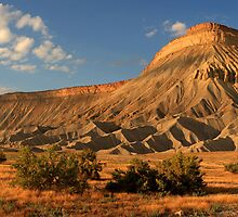 Mt. Garfield-Grand Junction Co. by Steve  Taylor