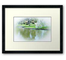 PeacefulScene Framed Print