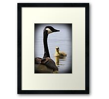 Mom look at me! Framed Print
