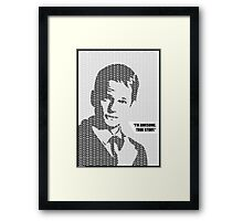 I'm Awesome! Framed Print