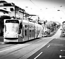 Tram ride by John Violet