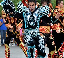 Bolivian Dance - Museum of the American Indian - Washington D.C by Matsumoto