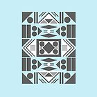 African Design I iPhone Case by Josh Marten