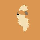 Growlithe Pokemon by HeyHaydn